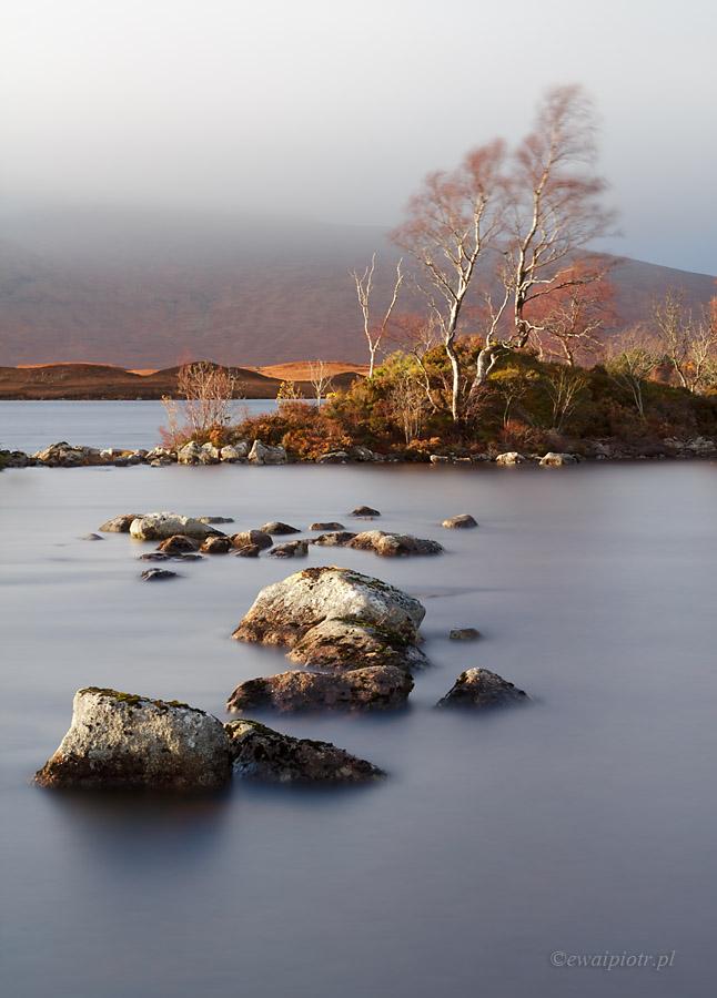 W dolinie Glen Coe, Szkocja