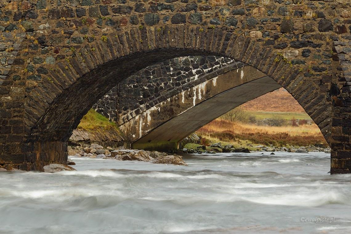 most w Sligachan, Szkocja