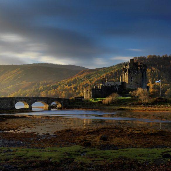 Fotowyprawa z Hasselbladem, Zamek Eilean Donan, Szkocja