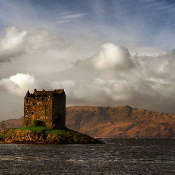 Warsztaty fotograficzne w Szkocji, Hasselblad X1D i zamek Stalker