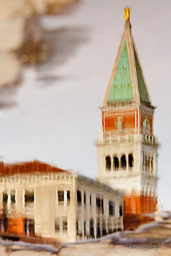 Wenecja po deszczu