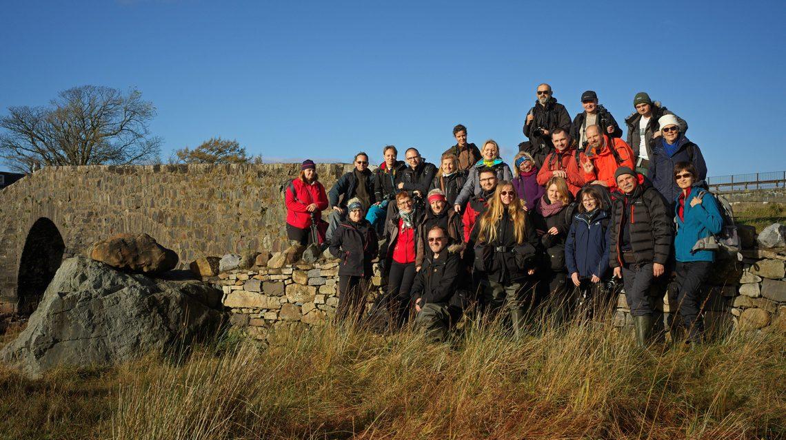 Fotowyprawa na Skye 2017 - zdjęcie grupowe uczestników.