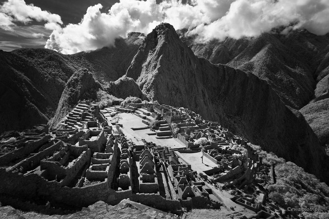 Machu Picchu w podczerwieni, Peru