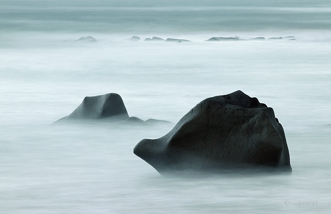 Na wybrzeżu Lofotów