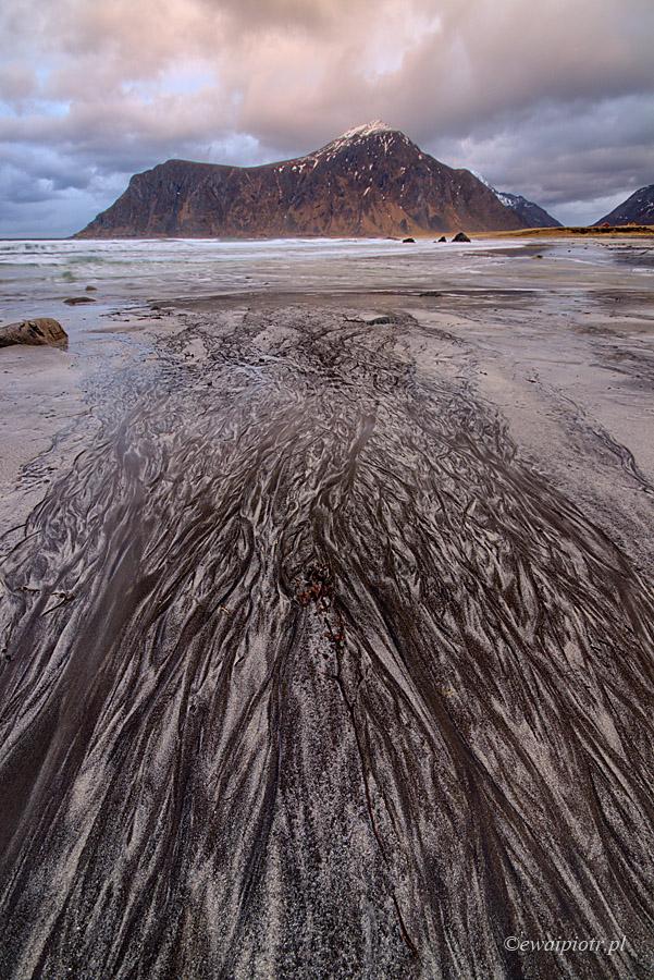 Plaża za kręgiem polarnym, Lofoty