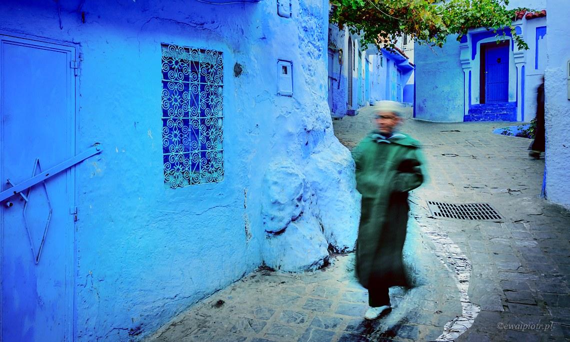w zaułkach Szafszawan, Maroko