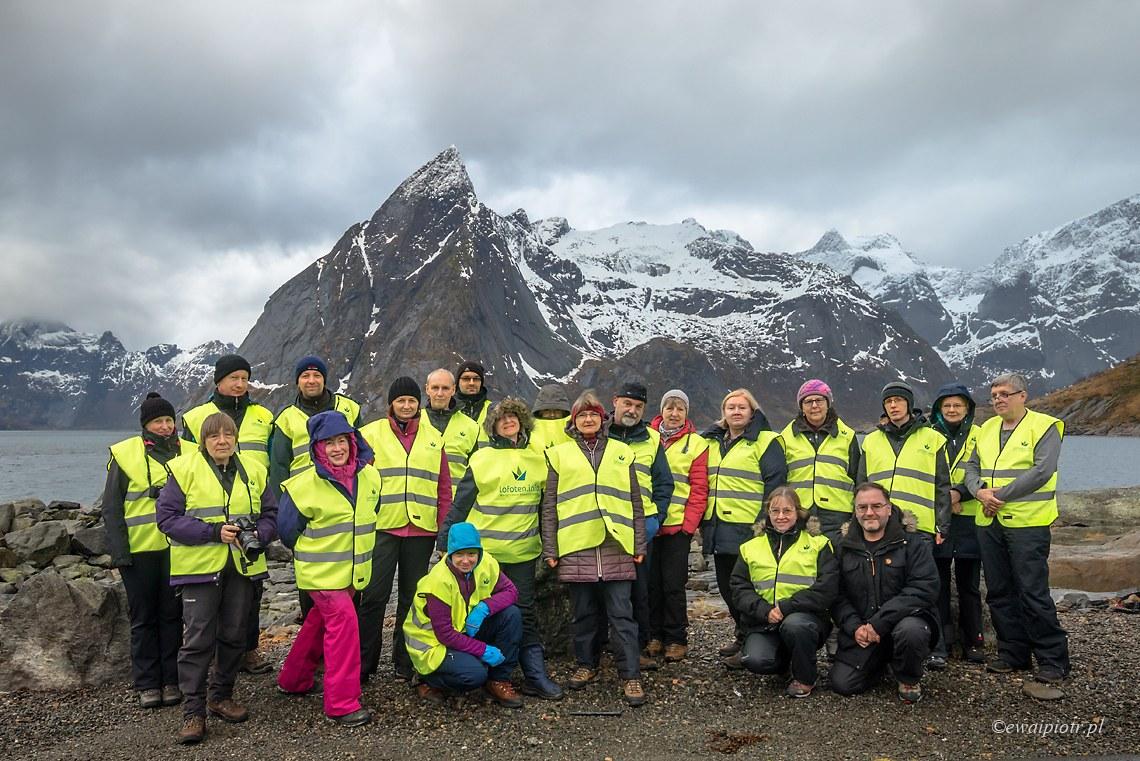 Uczestnicy fotowyprawy na Lofoty 2017