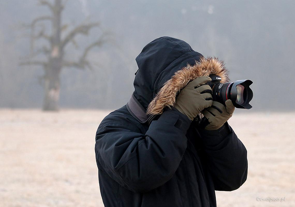Ciepły fotograf, Rogalin