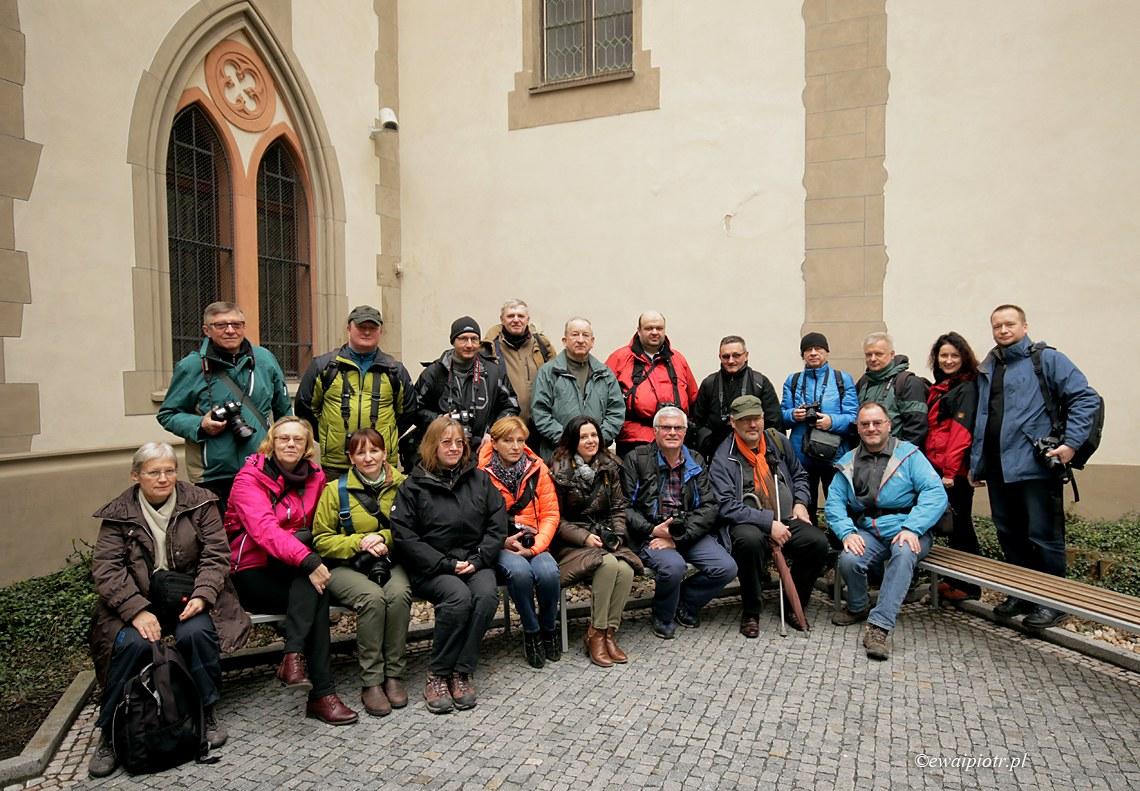 Uczestnicy warsztatów Praga po żydowsku 2017
