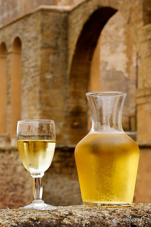 Białe wino z Pitigliano, Toskania