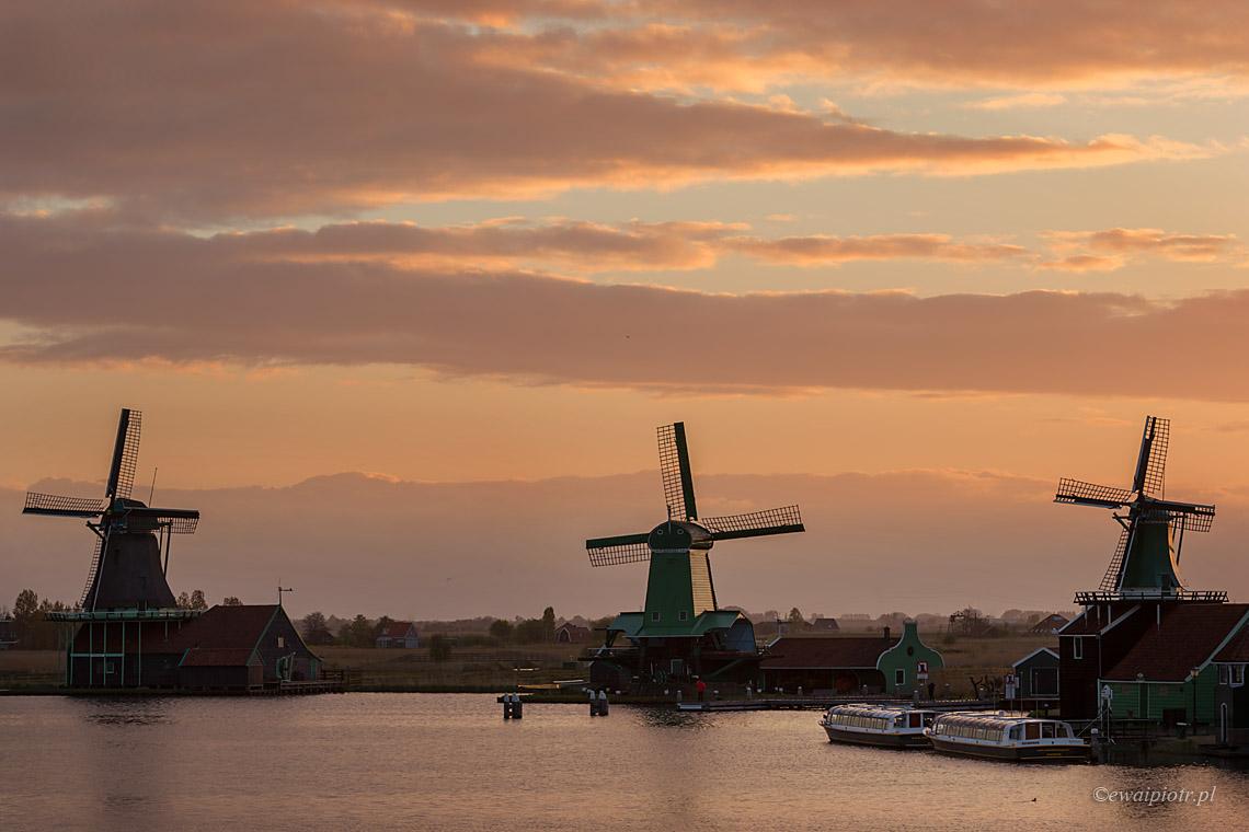 Wiatraki Zaanse Schance, Holandia