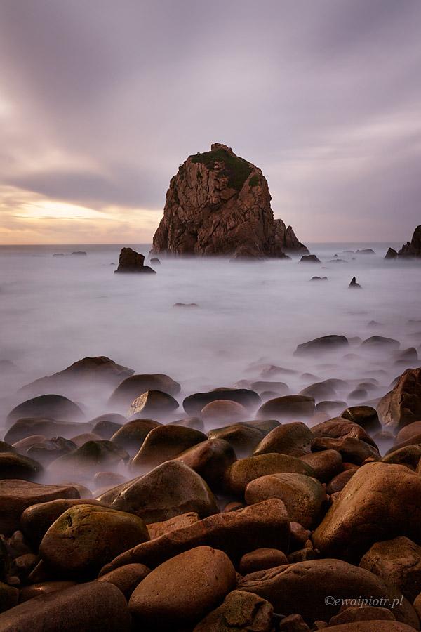 Światło na Praia da Ursa, Portugalia