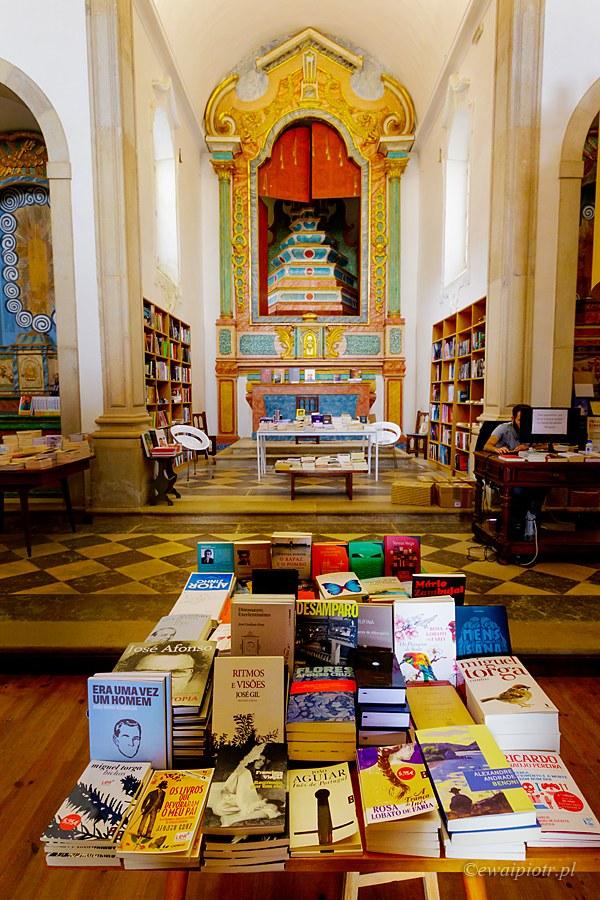 Księgarnia w Obidos, Portugalia