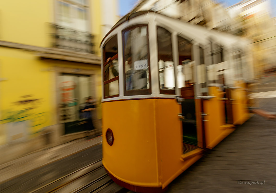 Tramwaj w Lizbonie, Portugalia