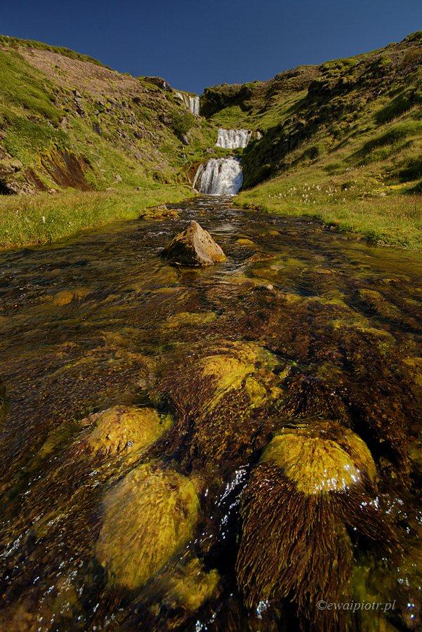 Wodospad Selvallafoss na półwyspie Snaefellsnes, Islandia