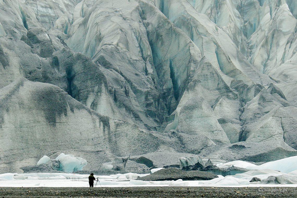 Przed lodowcem, Islandia