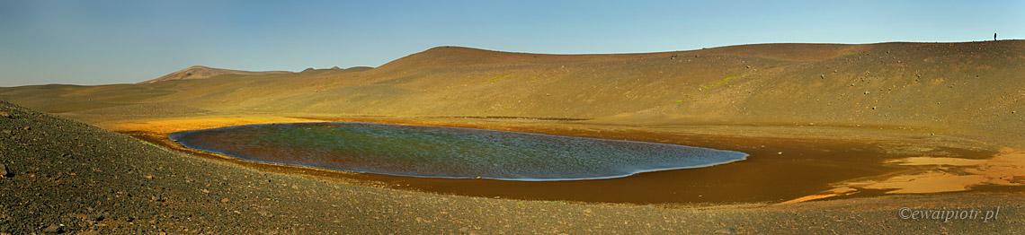 Wodne oczko Islandii