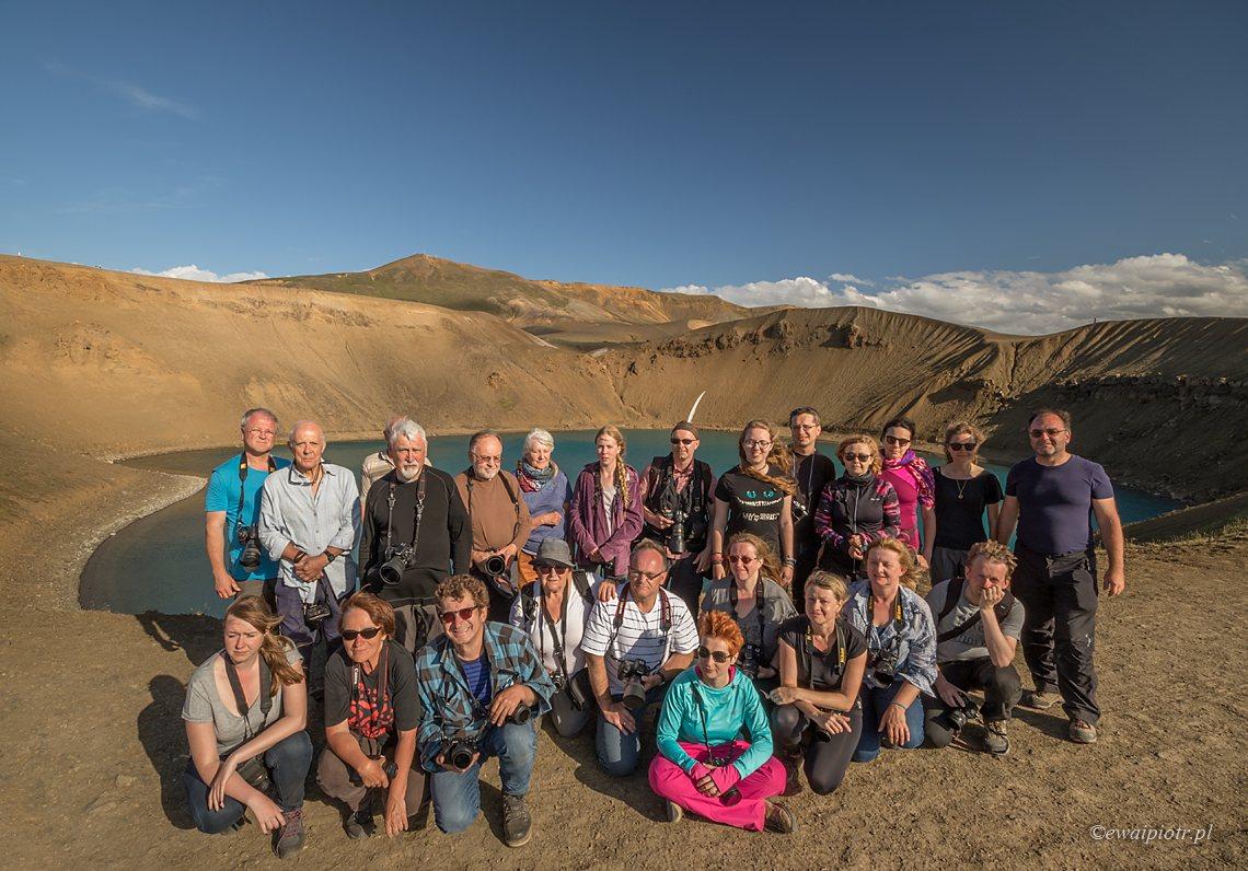 Uczestnicy fotowyprawy na Islandię 2017