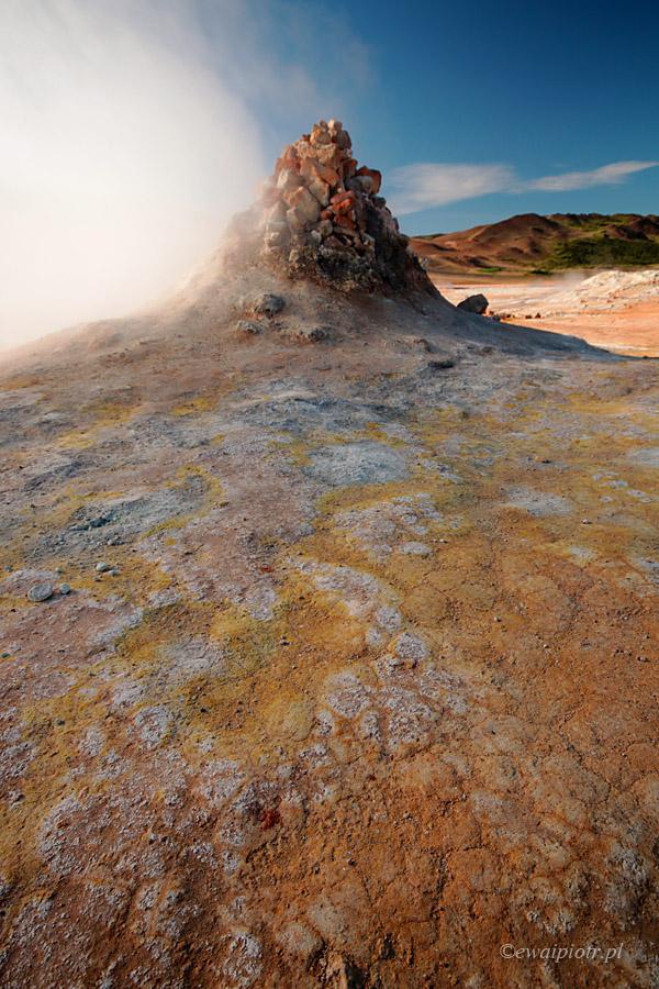 Piekielne kominy, Islandia