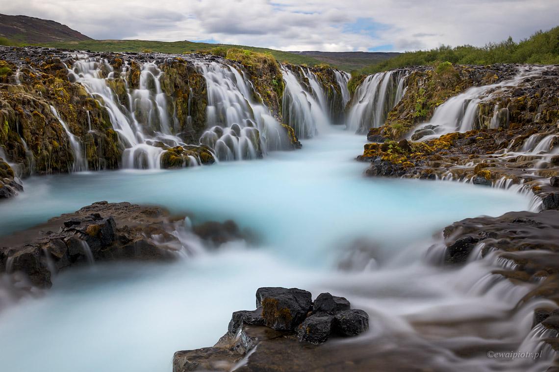 Bruarfoss, Islandia