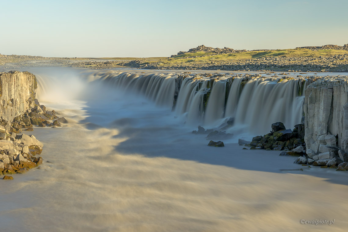 Filtry szare Manfrotto - ND500 i wodospad Selfoss