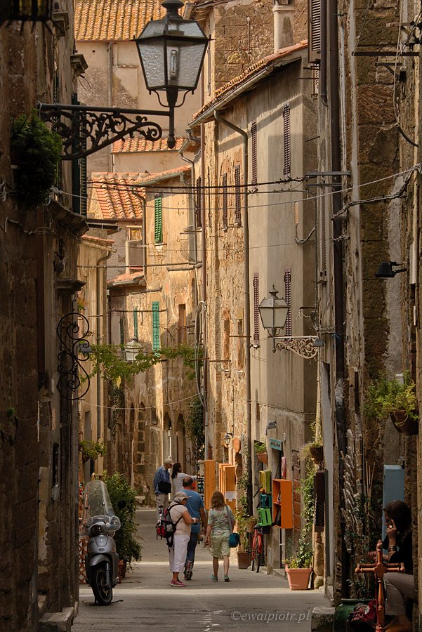 W Pitigliano, Toskania