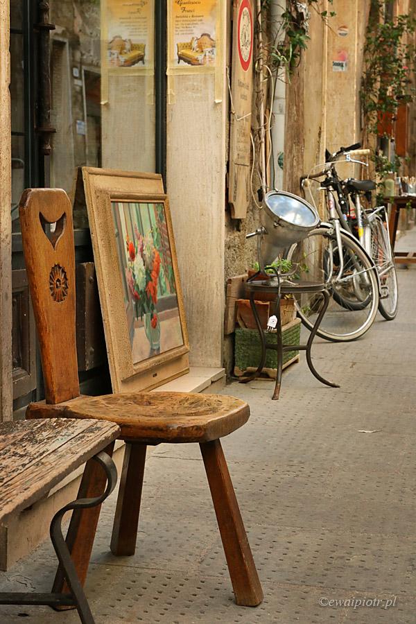 Artyści w Pitigliano, Toskania