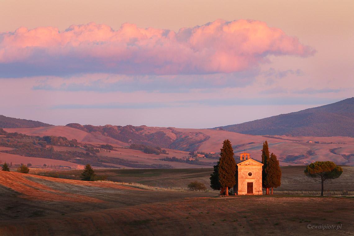 kapliczka w Toskanii