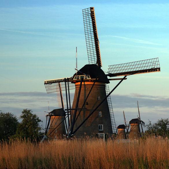 Pierwsze promienie wiatraka, Holandia