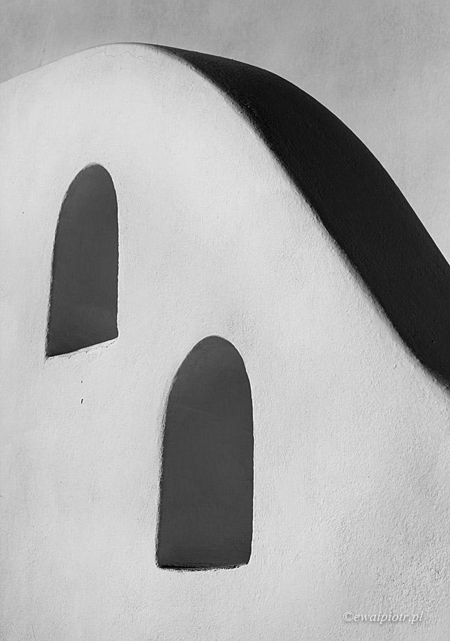 Fotowyprawa Santorini w czerni i bieli