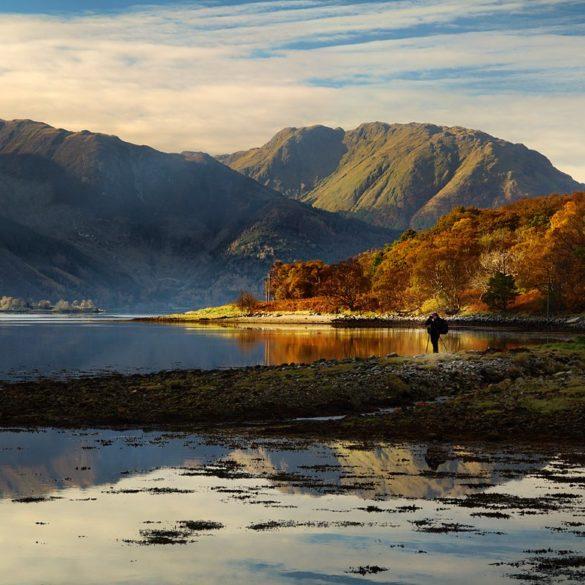 Popołudnie nad rozlewiskiem, Szkocja