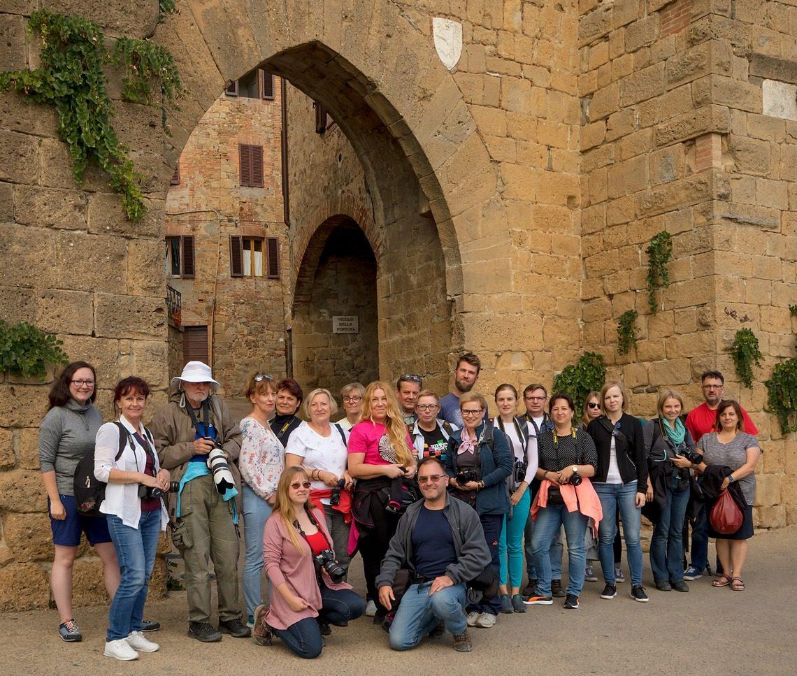 Uczestnicy fotowyprawy Toskańska Jesień 2017