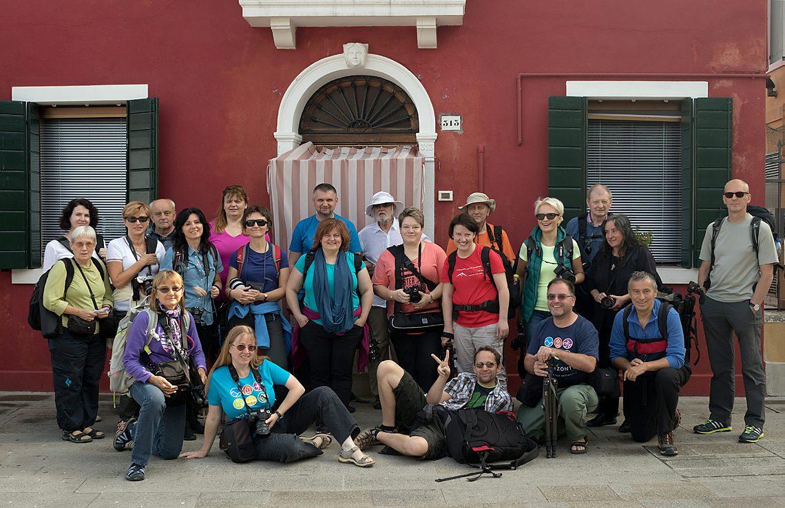 Uczestnicy fotowyprawy Dolomity - Wenecja 2017