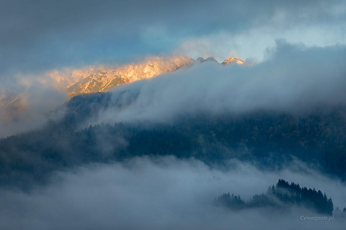 Monte Pelmo o poranku, fotowyprawa w Dolomity