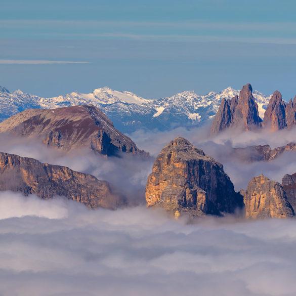 Fotowyprawa w Dolomity - z przełęczy Falzarego