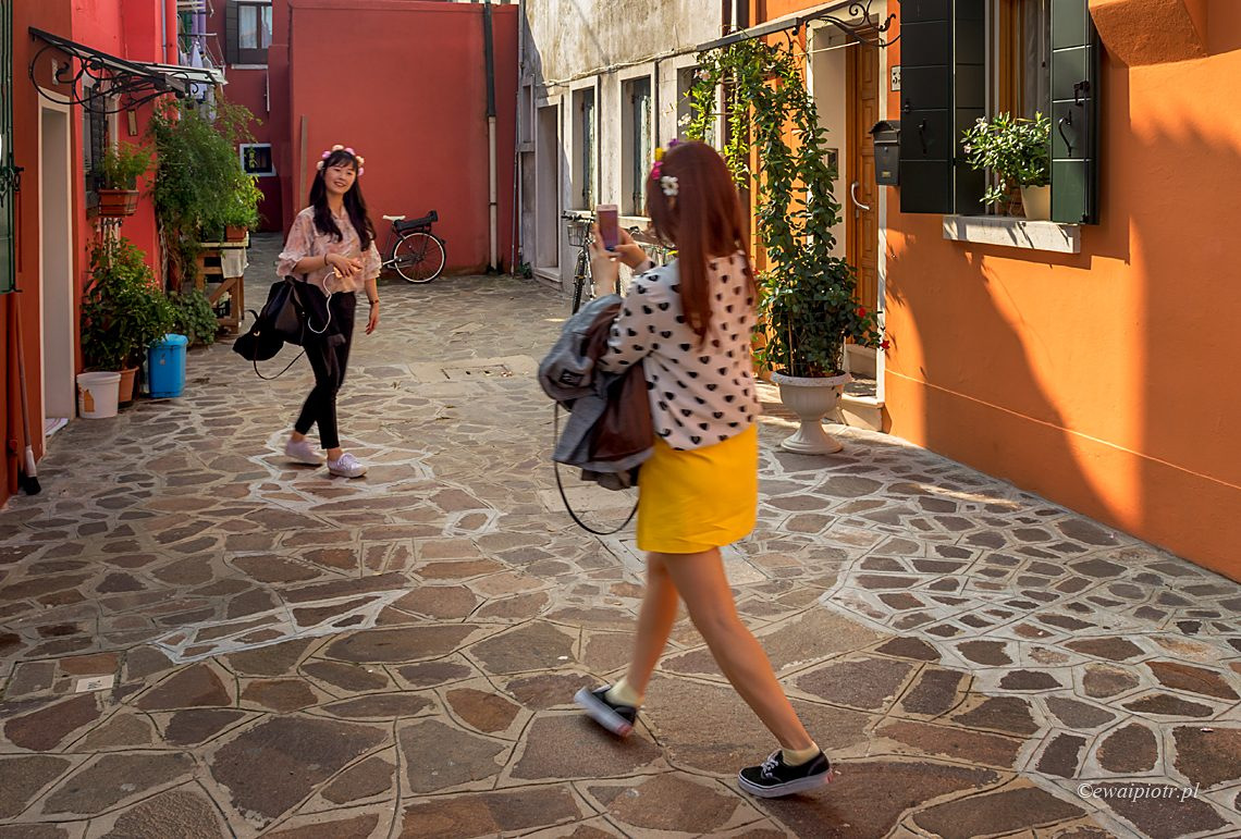 Numerki w Burano, Wenecja