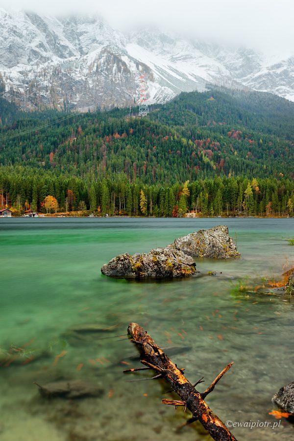 jezioro pod Alpami, fotowyprawa do Bawarii