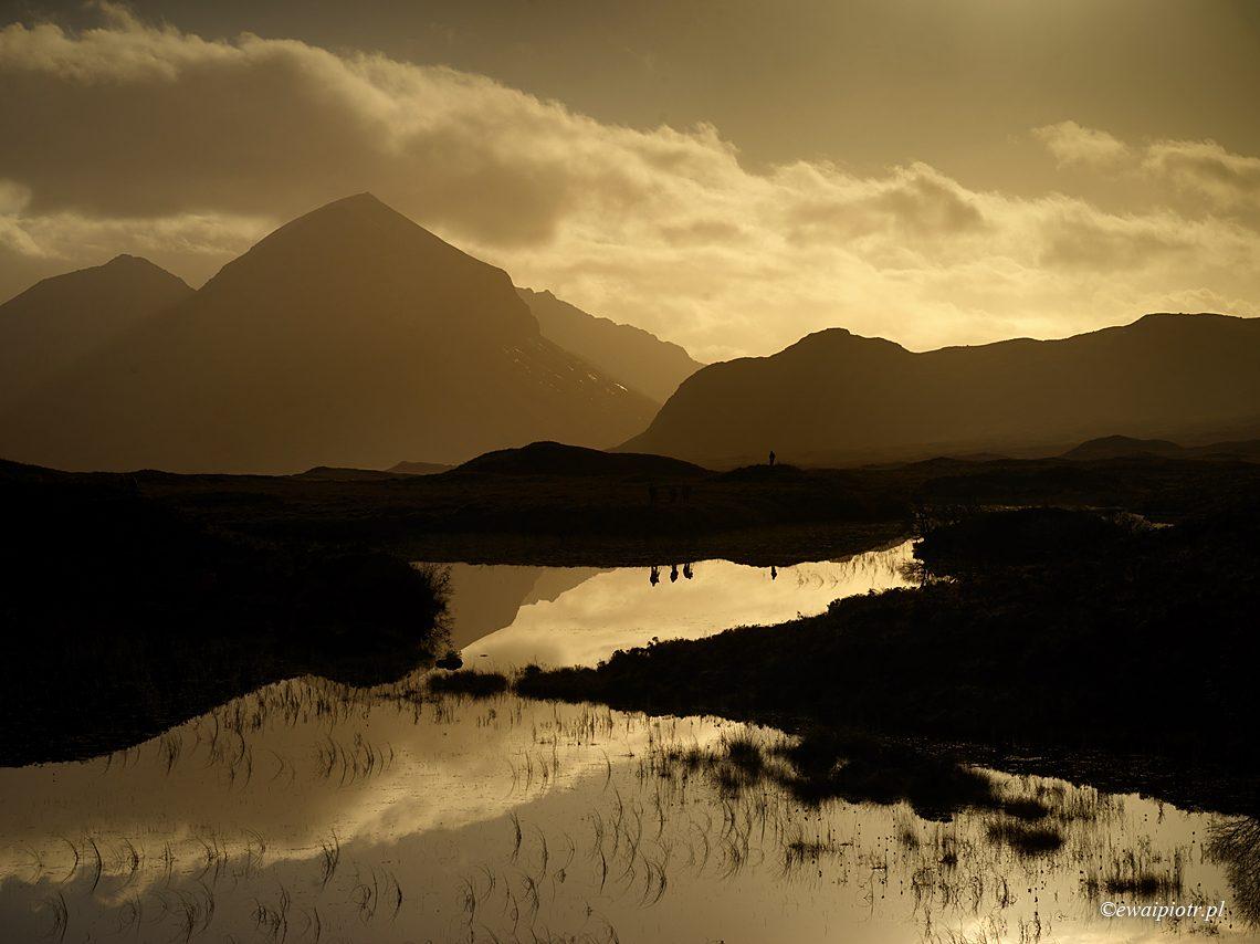 Fotowyprawa do Szkocji, jezioro Loch Nan Eilean