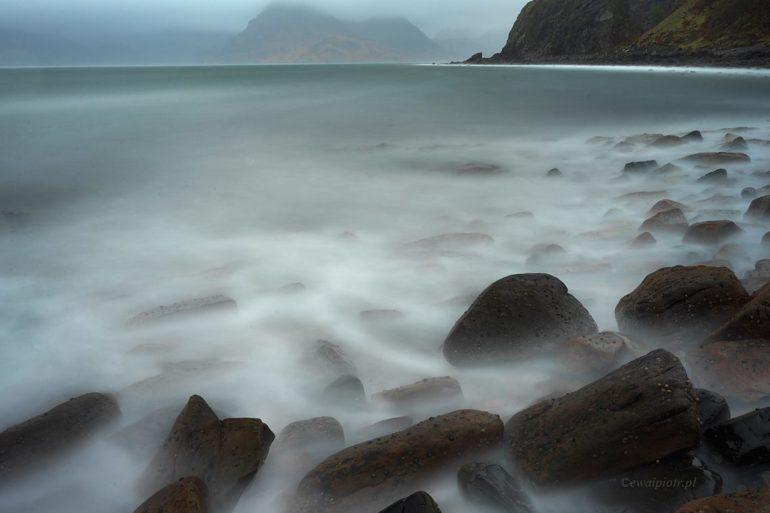 Wybrzeże Elgol, Szkocja, długa ekspozycja X1D