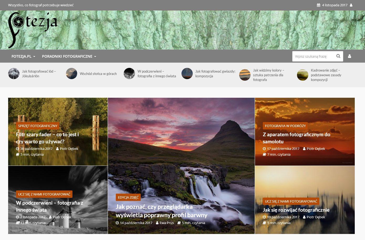 Fotezja – portal fotograficzny