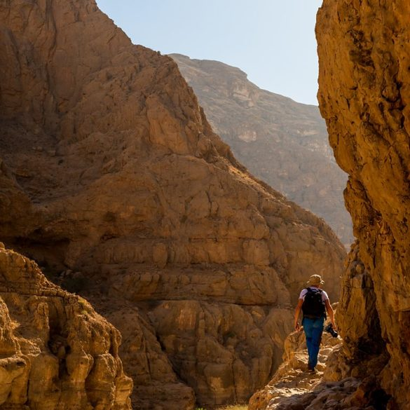kanion Wadi Shab, Oman, fotowyprawa