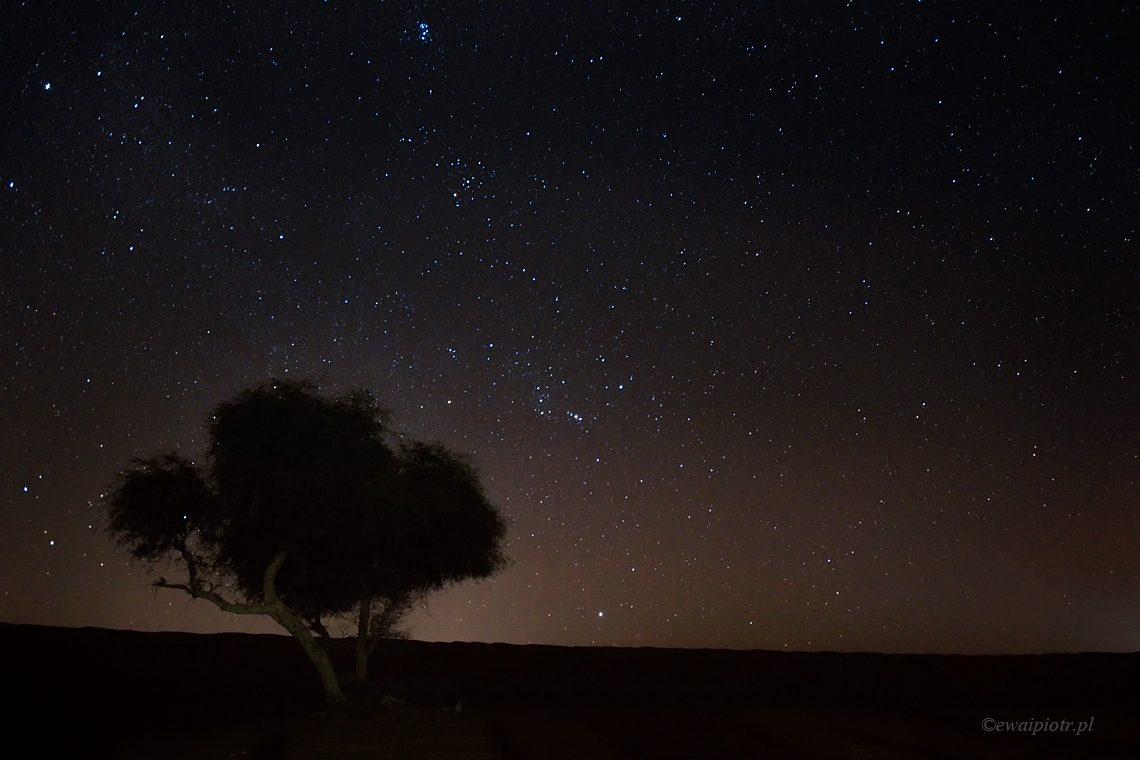 Noc nad Pustynią Sharqiya, Oman