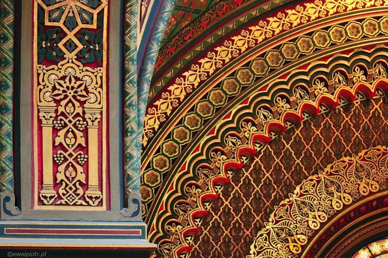 Architektura Pragi, Synagoga Hiszpańska, portfolio fotograficzne