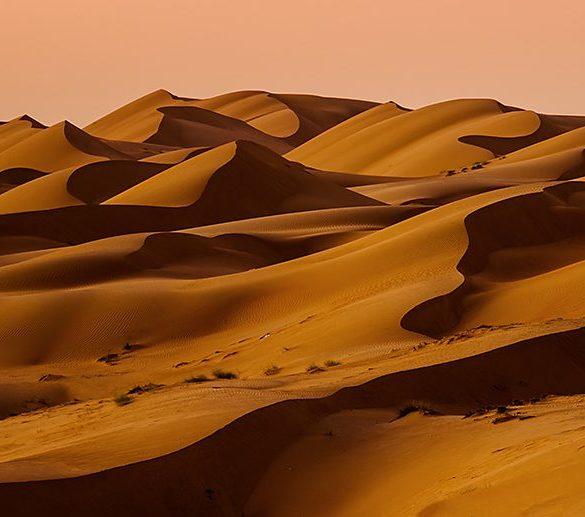 Z fotowyprawy do Omanu - pustynia Wahiba