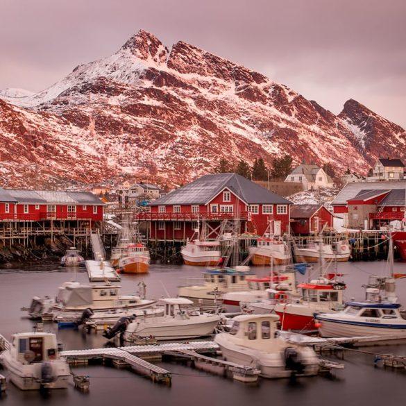 Port Sørvågen, fotowyprawa na Lofoty