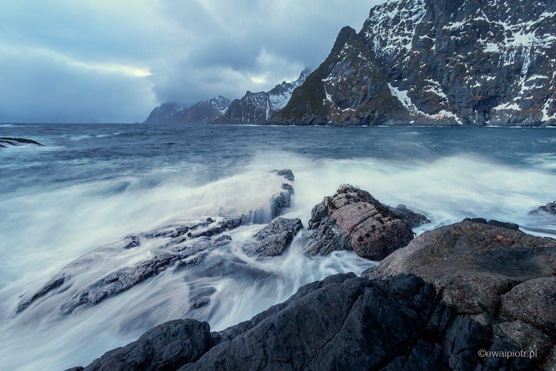 Skaliste wybrzeże, fotowyprawa na Lofoty