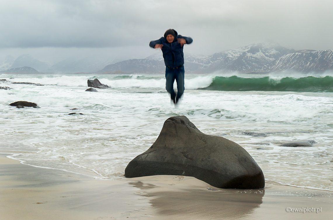 Skaczący Zając Morski, Lofoty