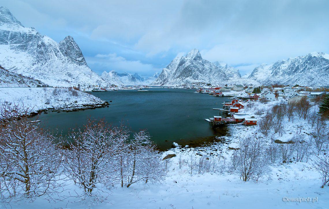 Reine zimą, warsztaty fotograficzne na Lofotach