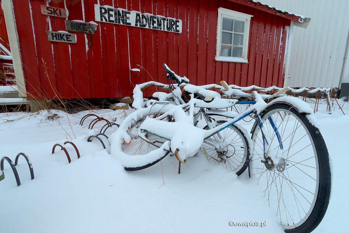 Rowery w śniegu, Lofoty fotowyprawa