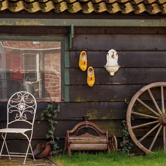 Życie w Zaanse Schans, Holandia